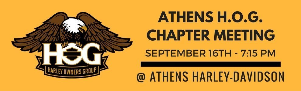 ATHENS H.O.G. CHAPTER MEETING
